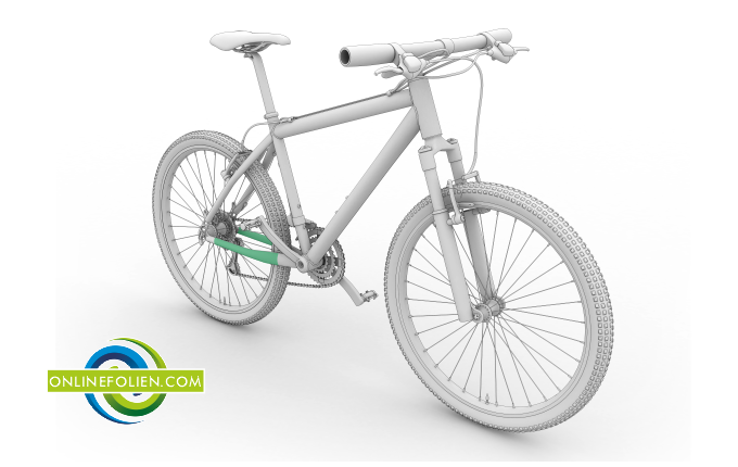 Fahrrad Kettenstrebenschutz
