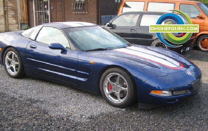 Streifendekor Corvette